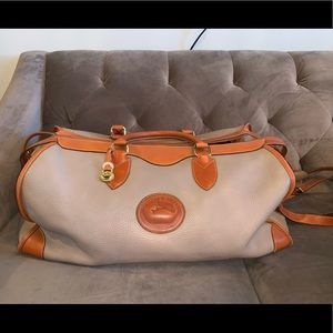 Dooney and Bourke leather travel/duffel bag